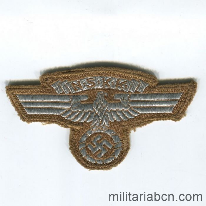 Germany III Reich. Arm Badge of Leader of the NSKK Nationalsozialistisches Kraftfahrkorps. With RZM label.