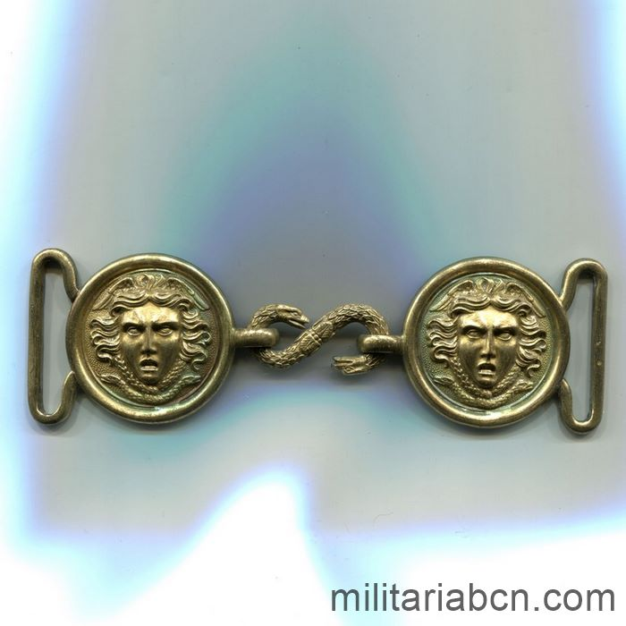 French Navy Officer Buckle
