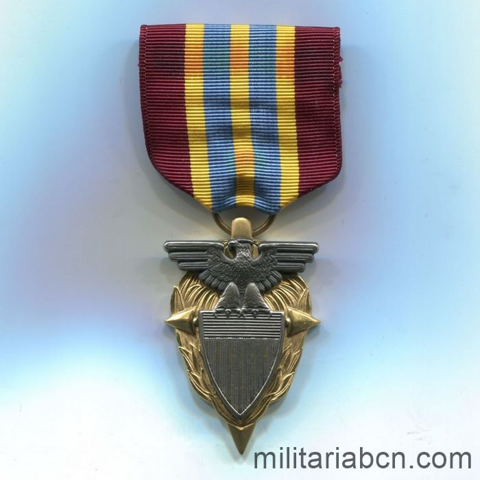 USA. Meritorious Civilian Service Award. Awarded by the Defense Supply Agency ribbon