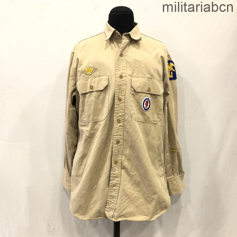 USA. US Army Amphibious Engineers Battalion and Combined Operations shirt. Second World War.
