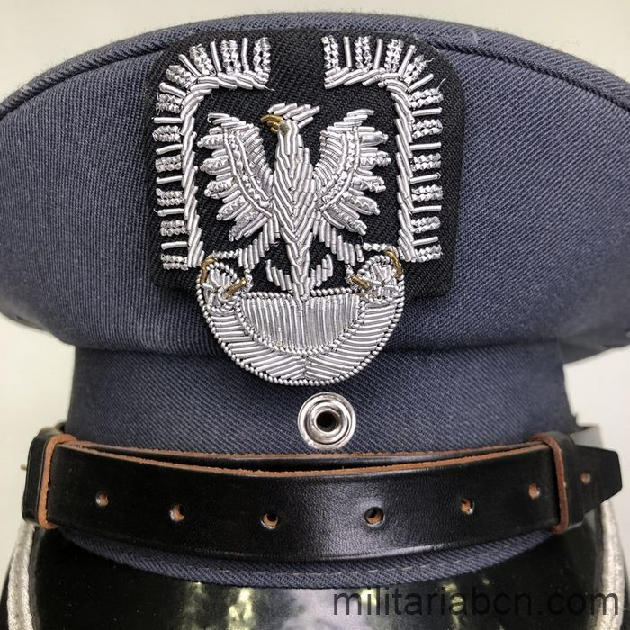 People's Republic of Poland. Officers Air Force or Aviation visor cap