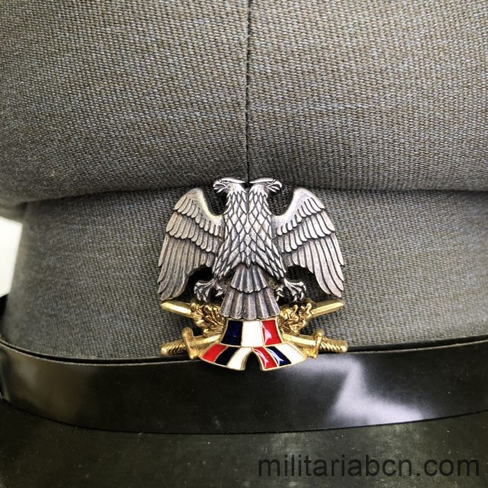 Officer's Army visor cap of the Federation of Serbia and Montenegro 1992-2006.