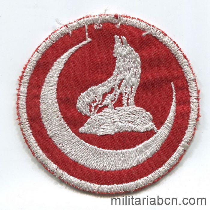 Turkey. Patch of the Turkish nationalist organization Gray Wolves.
