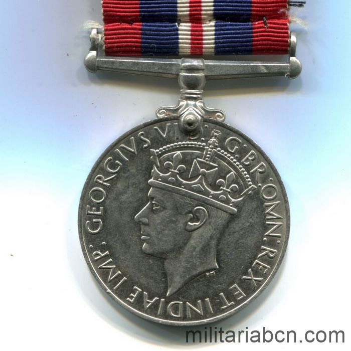 UK. Commemorative Medal of the Second World War. 1939-1945.