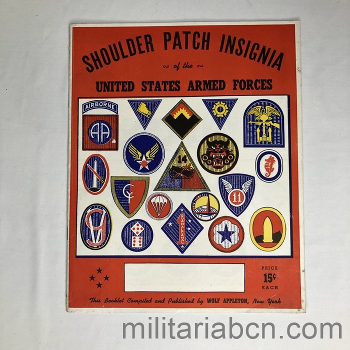 us patches catalog ww2