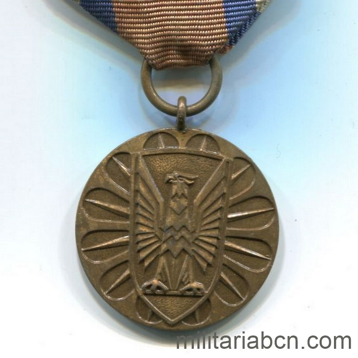 People's Republic of Poland. Award of Merit in the Protection of Public Order. Bronze version