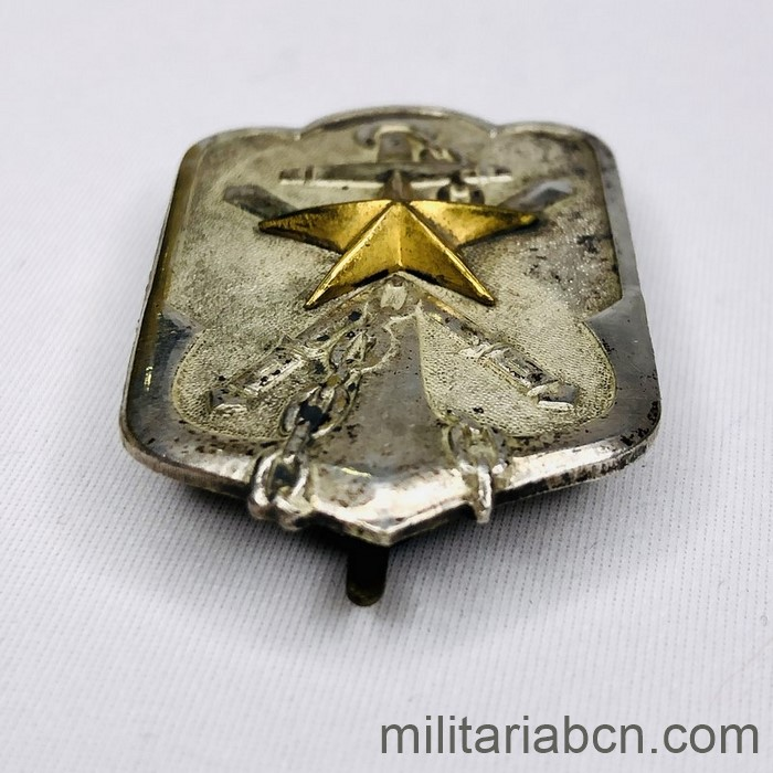 Japan. Japanese badge of member of the Imperial Association of Reservist Military. 45 x 28 mm. Rare WWI variant
