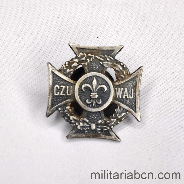 Poland. Badge of the Polish Boy Scouts